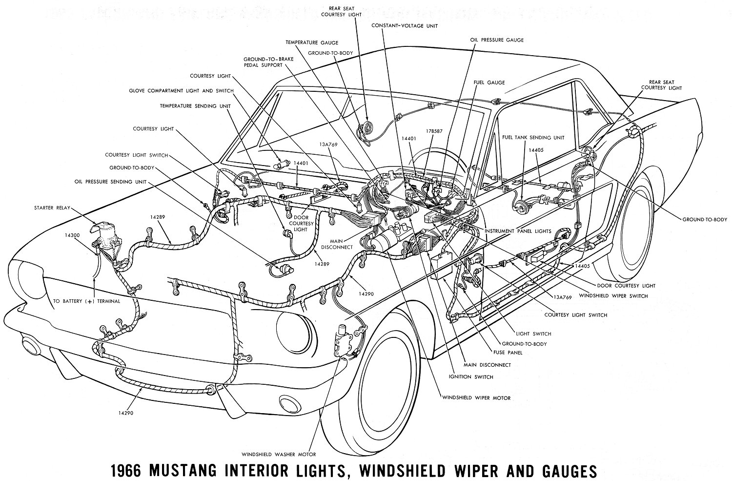 Pictures Mustang Documents 1964 Galaxie 500 Xl Wiring Diagram