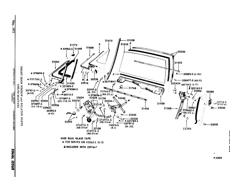 65 mustang vent window diagram  65  free engine image for